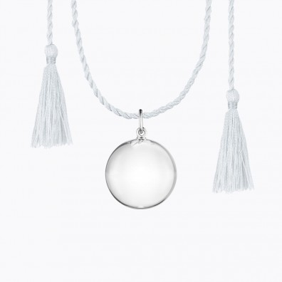 JOY Pregnancy Necklace Silver