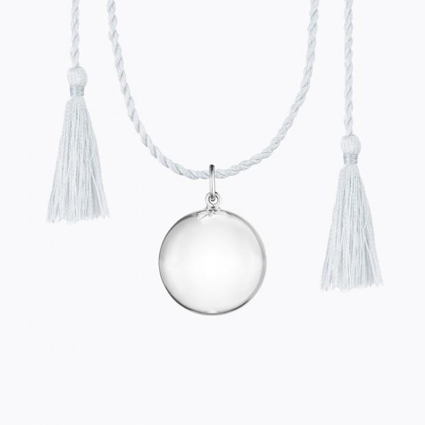 JOY Pregnancy Necklace Silver