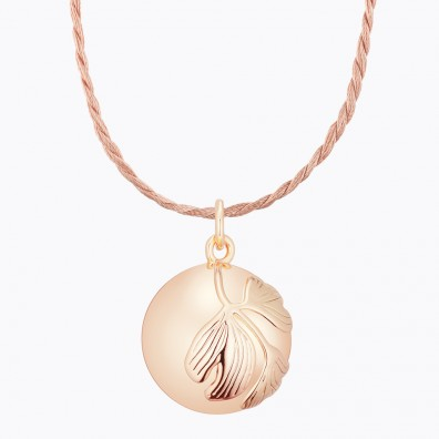 GINKGO Maternity Necklace Rose Gold Plated