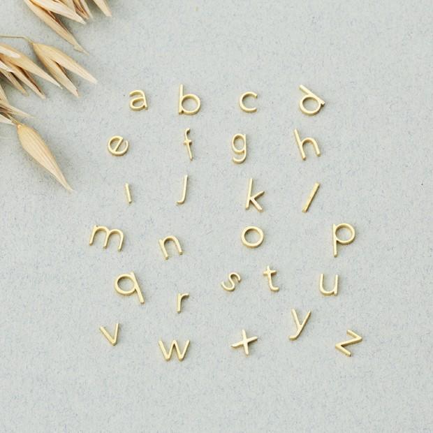 Alphabet charm