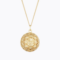 FLOWER OF LIFE Maternity Necklace