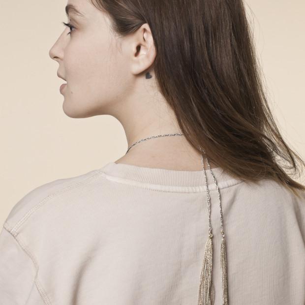 JOY Pregnancy Necklace Pink Gold